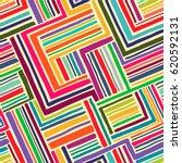hand drawn seamless geometric... | Shutterstock .eps vector #620592131