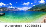 beautiful lakes of italy  ...   Shutterstock . vector #620606861