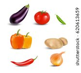colourful collection of... | Shutterstock .eps vector #620613659