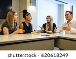 washington dc   circa april... | Shutterstock . vector #620618249
