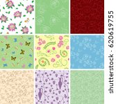 floral backgrounds with flowers ...   Shutterstock .eps vector #620619755