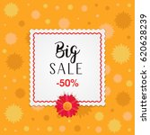 big sale banner design with... | Shutterstock .eps vector #620628239