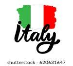 italy hand drawn ink brush... | Shutterstock .eps vector #620631647