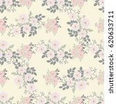 seamless folk pattern in small... | Shutterstock .eps vector #620633711
