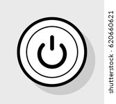 on off switch sign. vector.... | Shutterstock .eps vector #620660621