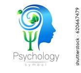 modern head logo sign of... | Shutterstock .eps vector #620667479