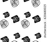 vector repeat pattern. hand... | Shutterstock .eps vector #620680025