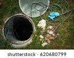 unclogging septic system....