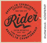 vintage biker graphics and... | Shutterstock .eps vector #620696969