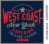 vintage varsity graphics and... | Shutterstock .eps vector #620699087