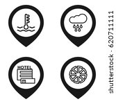Climate Icon. Set Of 4 Climate...