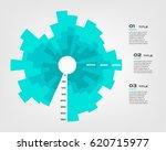 sunburst chart color... | Shutterstock .eps vector #620715977