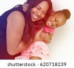 african american mother...   Shutterstock . vector #620718239