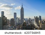 manhattan  new york   january... | Shutterstock . vector #620736845