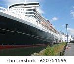 ocean liner at pier   Shutterstock . vector #620751599