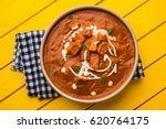 paneer butter masala or cheese... | Shutterstock . vector #620764175