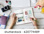 planning traveling trip notes... | Shutterstock . vector #620774489