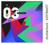 3 years anniversary celebration ... | Shutterstock .eps vector #620786657