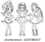 coloring book vector... | Shutterstock .eps vector #620788427