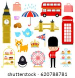 set of cute cartoons related to ... | Shutterstock . vector #620788781