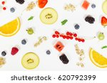 fruit background | Shutterstock . vector #620792399