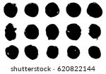 vector brush hand paint circle...