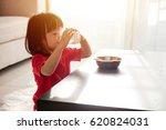 asian chinese little girl... | Shutterstock . vector #620824031