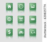 flat design icons  common...