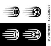 soccer american football ball... | Shutterstock .eps vector #620828339