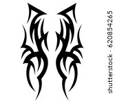tattoo tribal vector designs.... | Shutterstock .eps vector #620854265