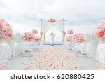 wedding ceremony | Shutterstock . vector #620880425