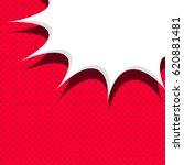 blank balloon template. red... | Shutterstock . vector #620881481
