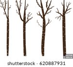 tree. trunk. silhouette. the... | Shutterstock .eps vector #620887931