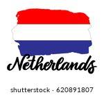 netherlands hand drawn ink... | Shutterstock .eps vector #620891807
