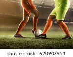 soccer players in action | Shutterstock . vector #620903951