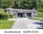 Small photo of France. Elsass Maginot Linie Fort Schoenenbourg