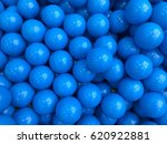 Blue Balls In Balls Pool At Th...