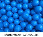 Blue Balls In Balls Pool At Th...
