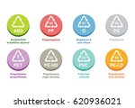 plastic recycling... | Shutterstock .eps vector #620936021