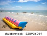beautiful beach and tropical sea   Shutterstock . vector #620936069