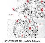 location icon flat design | Shutterstock .eps vector #620953127