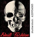 skull t shirt graphic design | Shutterstock .eps vector #620956085