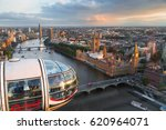 london eye   june 5  2016 ... | Shutterstock . vector #620964071