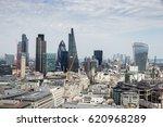 skyline view of london  uk | Shutterstock . vector #620968289