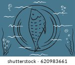 the dish from fish | Shutterstock .eps vector #620983661