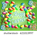 template vector card with... | Shutterstock .eps vector #621013997