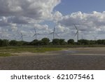Small photo of Aeolic turbines in Guamaré, RN, Brazil