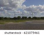 Small photo of Aeolic turbines in Guamaré, RN, Brazil