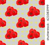 seamless pattern with...   Shutterstock .eps vector #621083999