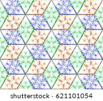 seamless pattern for backgrounds | Shutterstock . vector #621101054